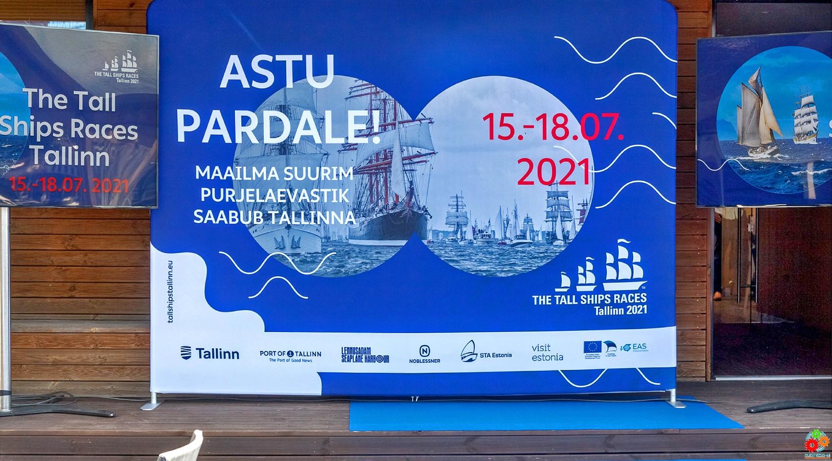 The Tall Ships Races 2021 – Таллинн примет крупнейший в мире парусный флот