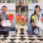 FMJD: определены чемпионы мира по шашкам