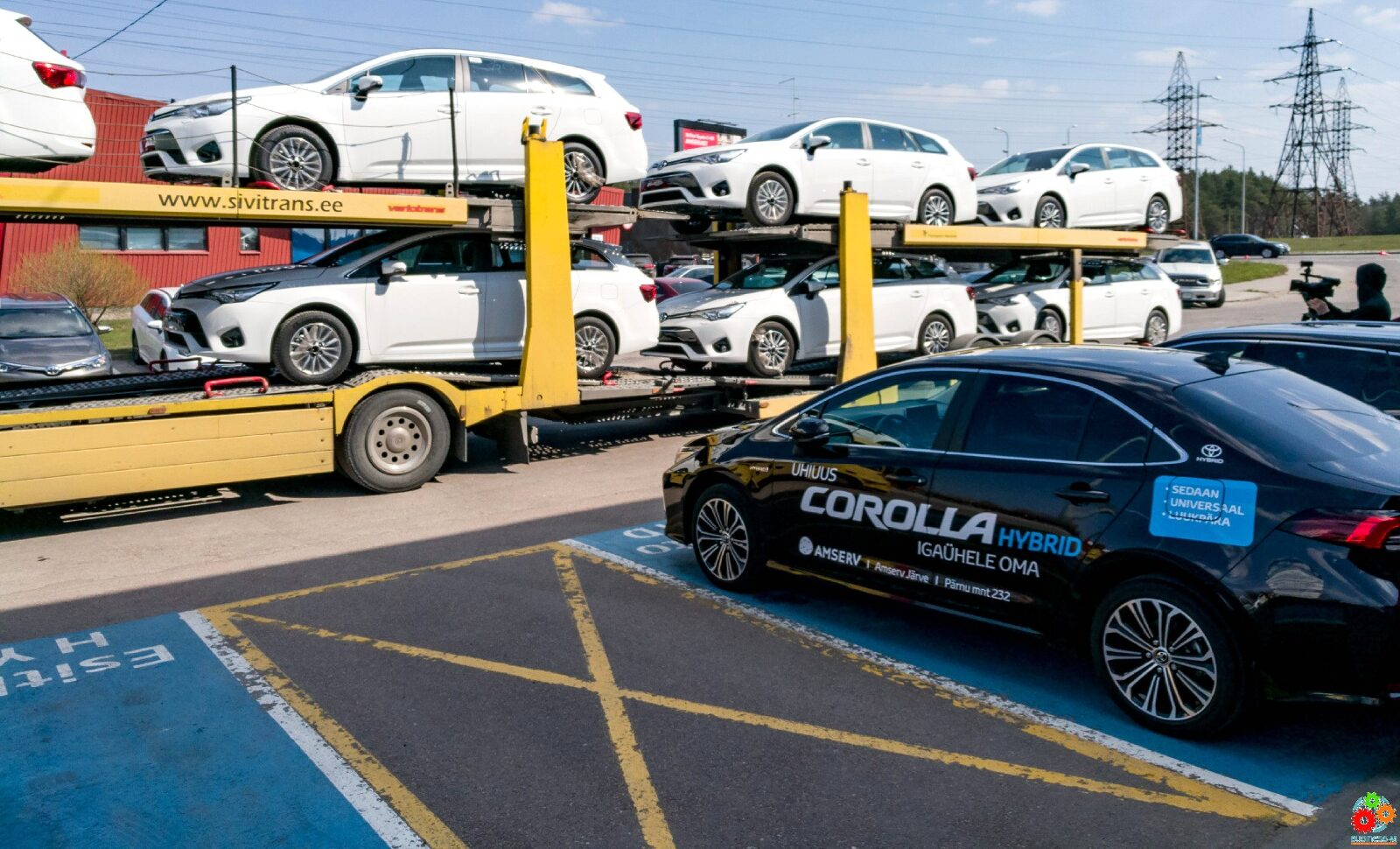 Продажи крупнейшего автодилера Эстонии в первом квартале выросли на 10%