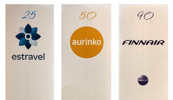 Finnair, Estravel и Aurinkomatkat отметили свои юбилеи