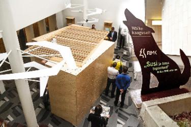 Две выставки в главном офисе RMK