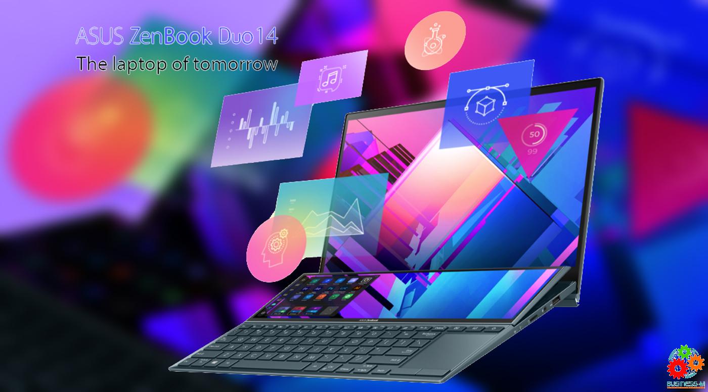 Два экрана — эталон инновативности: Обзор ASUS Zenbook Duo 14 (UX482)