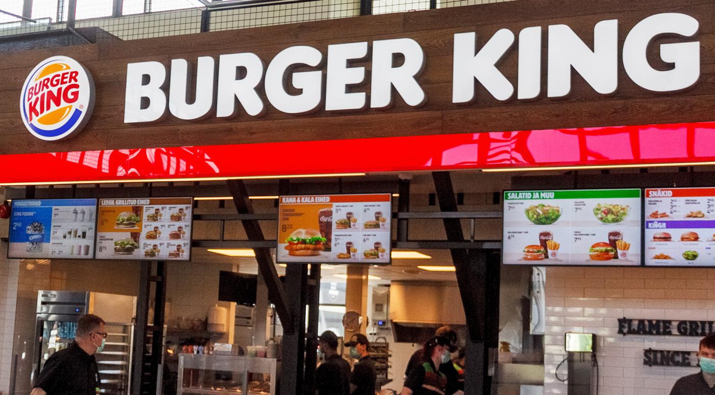 В день открытия в ресторанах Burger King совершали один заказ в минуту