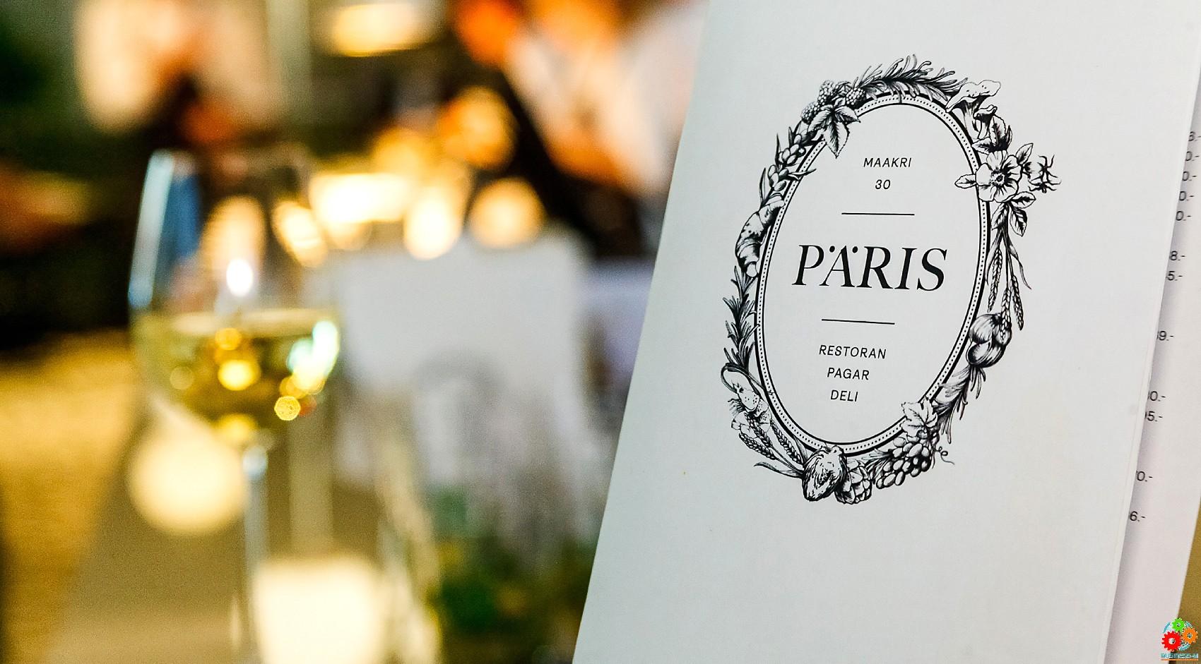 Таллиннский PÄRIS: в столице открылся новый ресторан