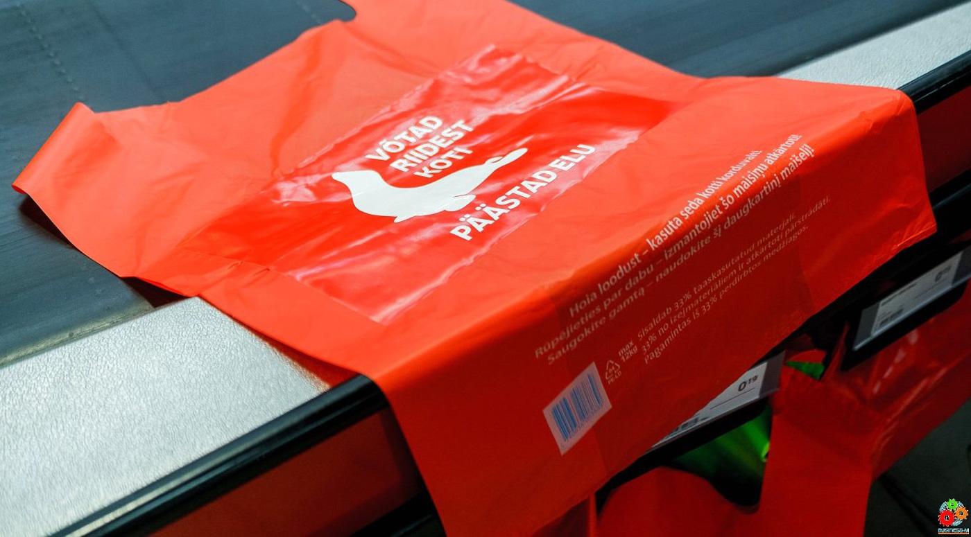 Rimi: полиэтиленовые пакеты покупают все меньше