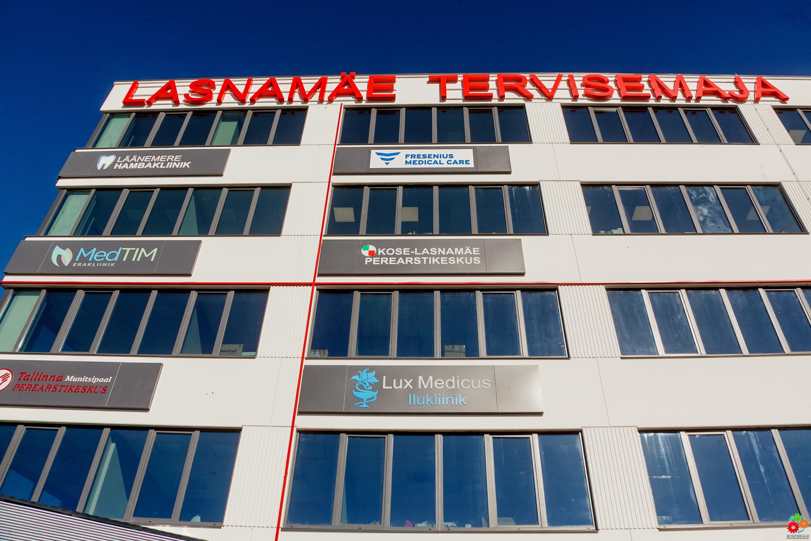 В Ласнамяэ открыт Tervisemaja