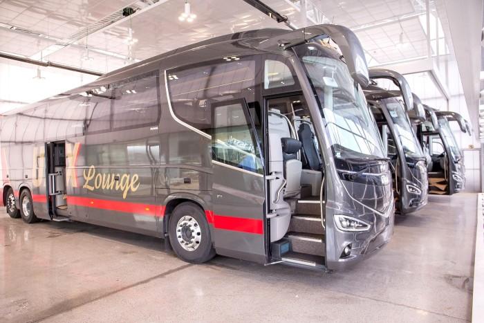 IRIZAR bussitehas Hispaanias San Sebastien. LUXEXPRESS. FOTO:SANDER ILVEST/POSTIMEES