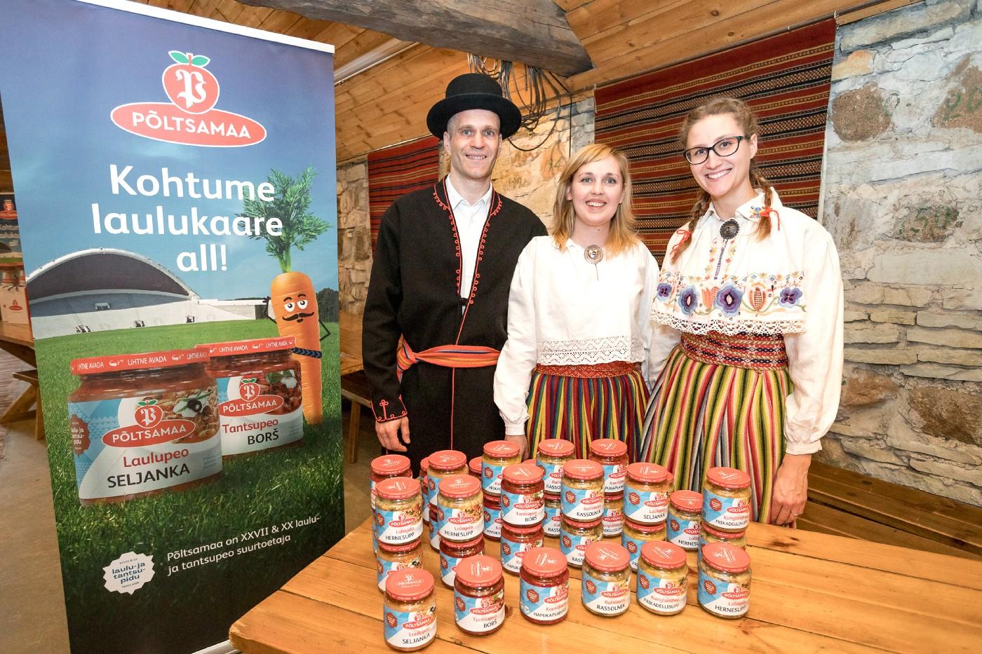 К Празднику песни и танца – праздничный суп Põltsamaa по старинному рецепту