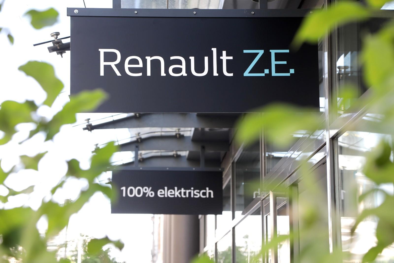 Renault: в Берлине открыт инновационный шоурум электромобилей