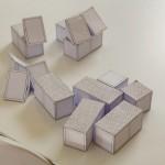 """На сайте Теокарп можно самому скачать """"выкройки"""" модулей, вырезать, склеить их и подбирать конфигурацию своего дома."""
