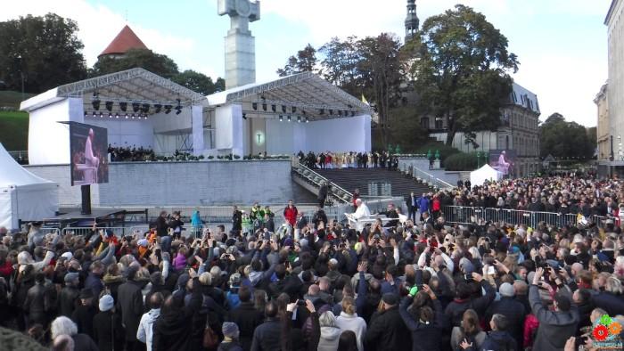 04 - Papa Francisk Tallinn 25-09-2018