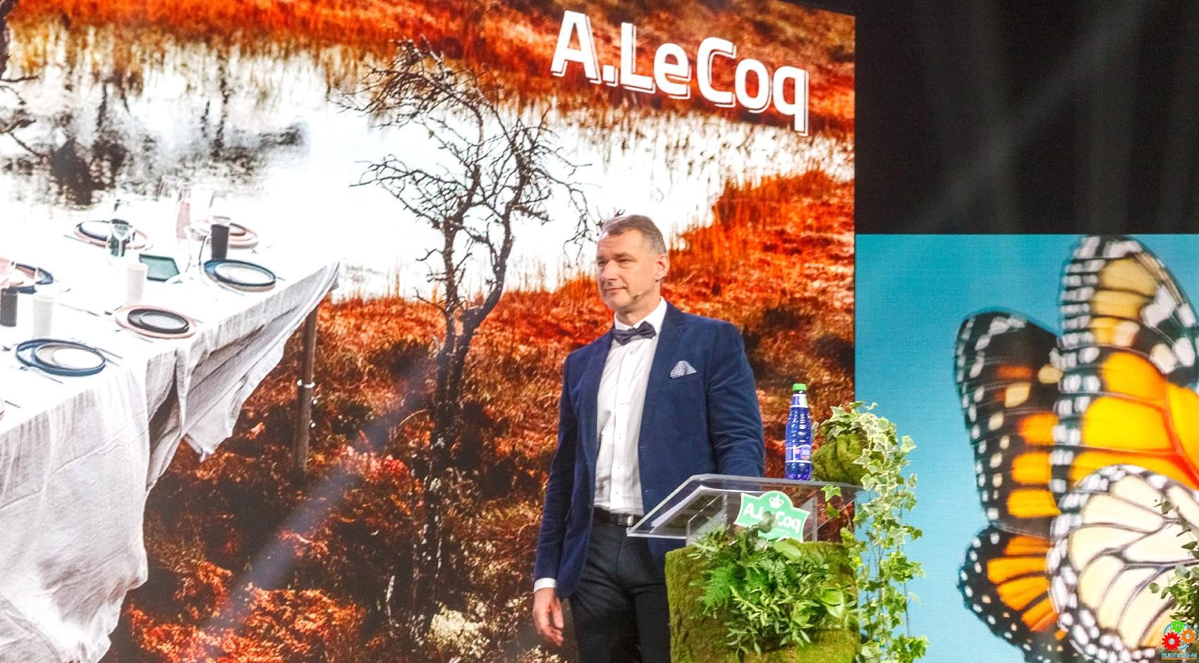 Зеленый поворот на A. Le Coq: более 5 млн евро в защиту окружающей среды