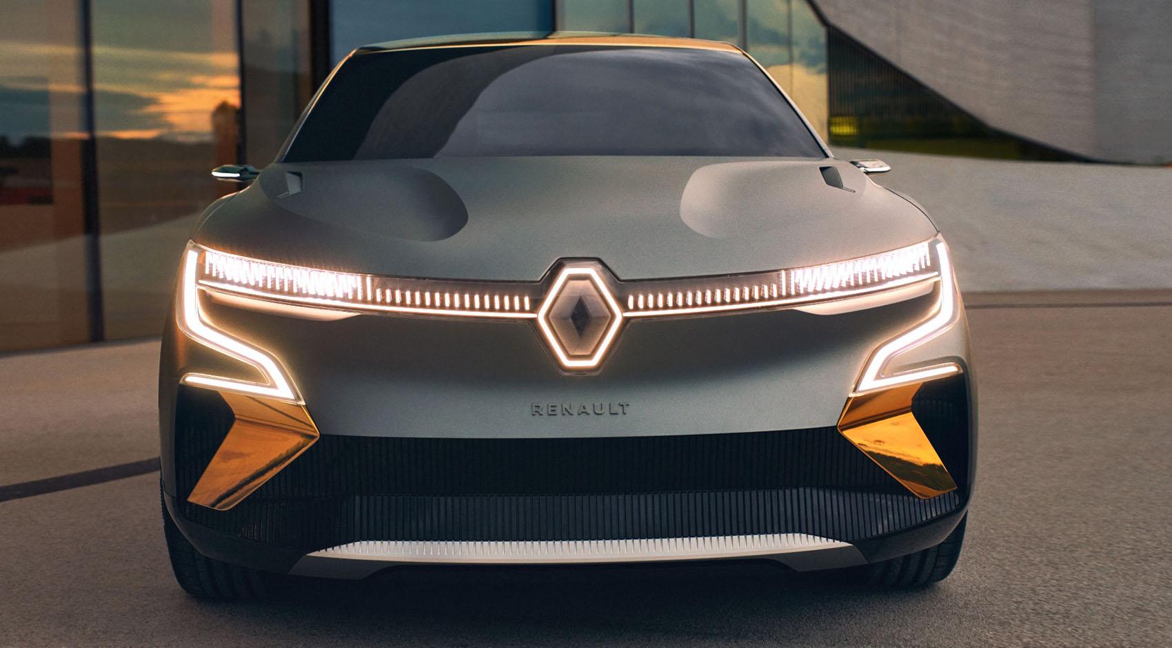 Двигайтесь в будущее с Renault MEGANE eVISION!