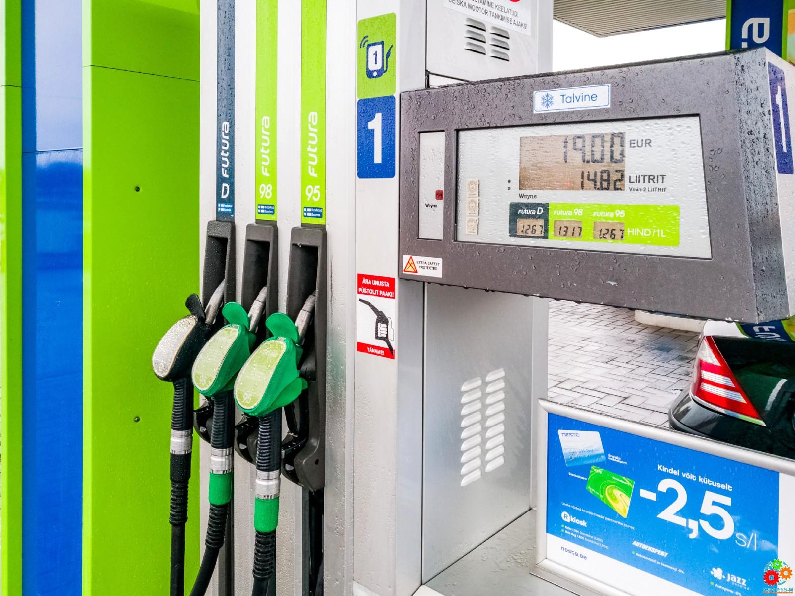 Neste начинает поставки зимнего дизельного топлива