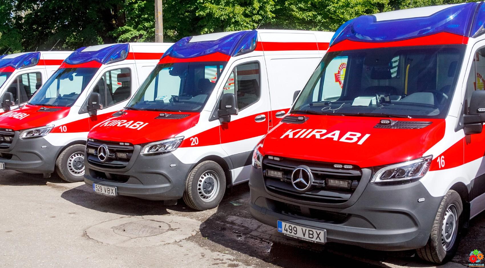 Новый опорный пункт скорой помощи открылся в Таллинне
