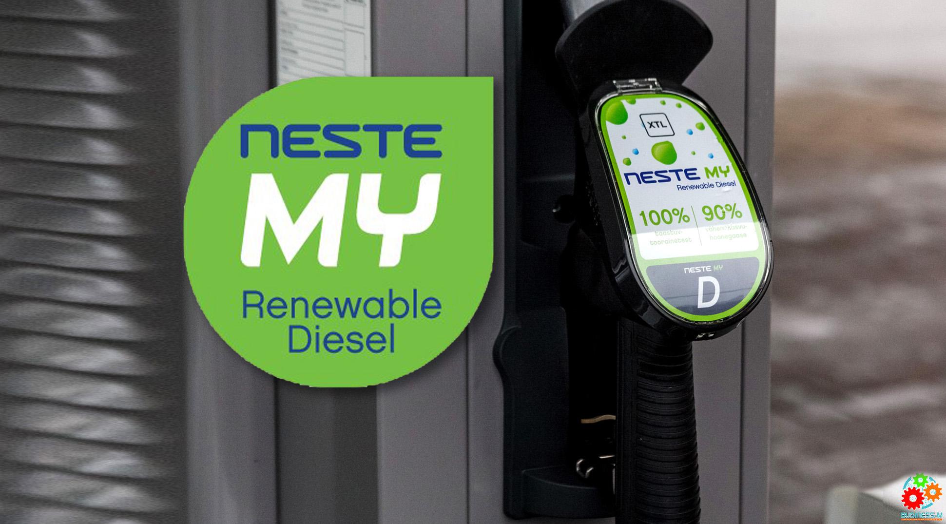 Новое топливо Neste MY теперь и на заправке в Юлемисте