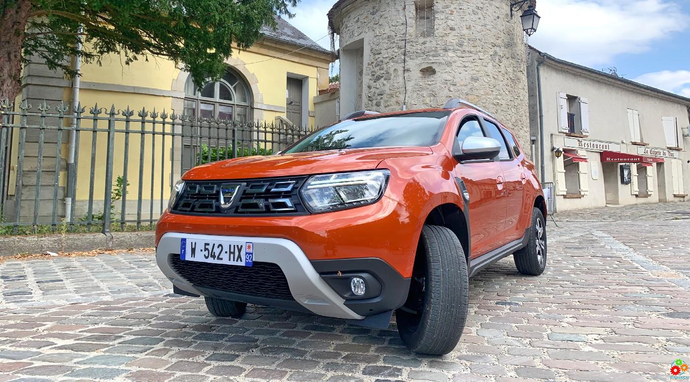 Новая Dacia Duster. Больше комфорта и удовольствия от езды