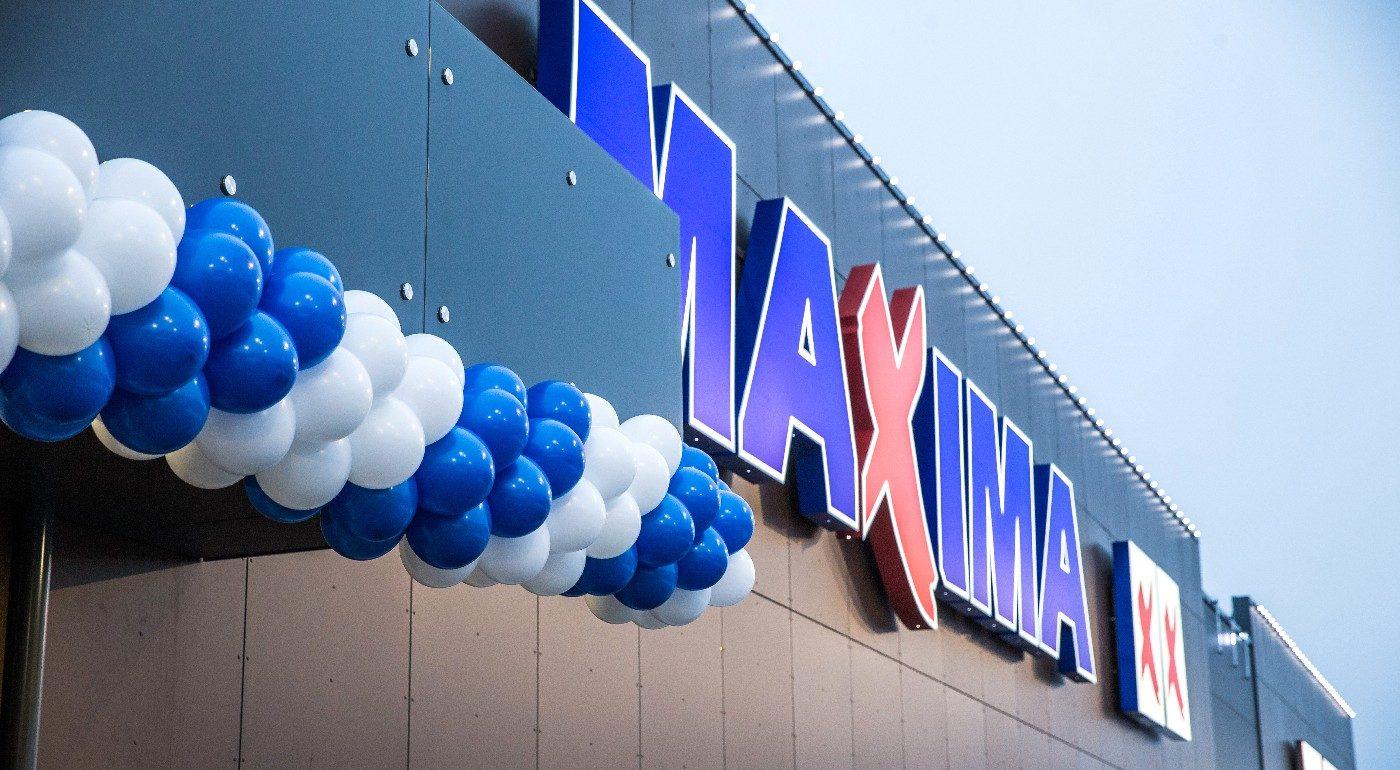 Maxima: открыт новый супермаркет в тартуском районе Аннелинн