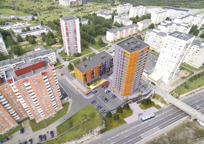 16-этажный дом: