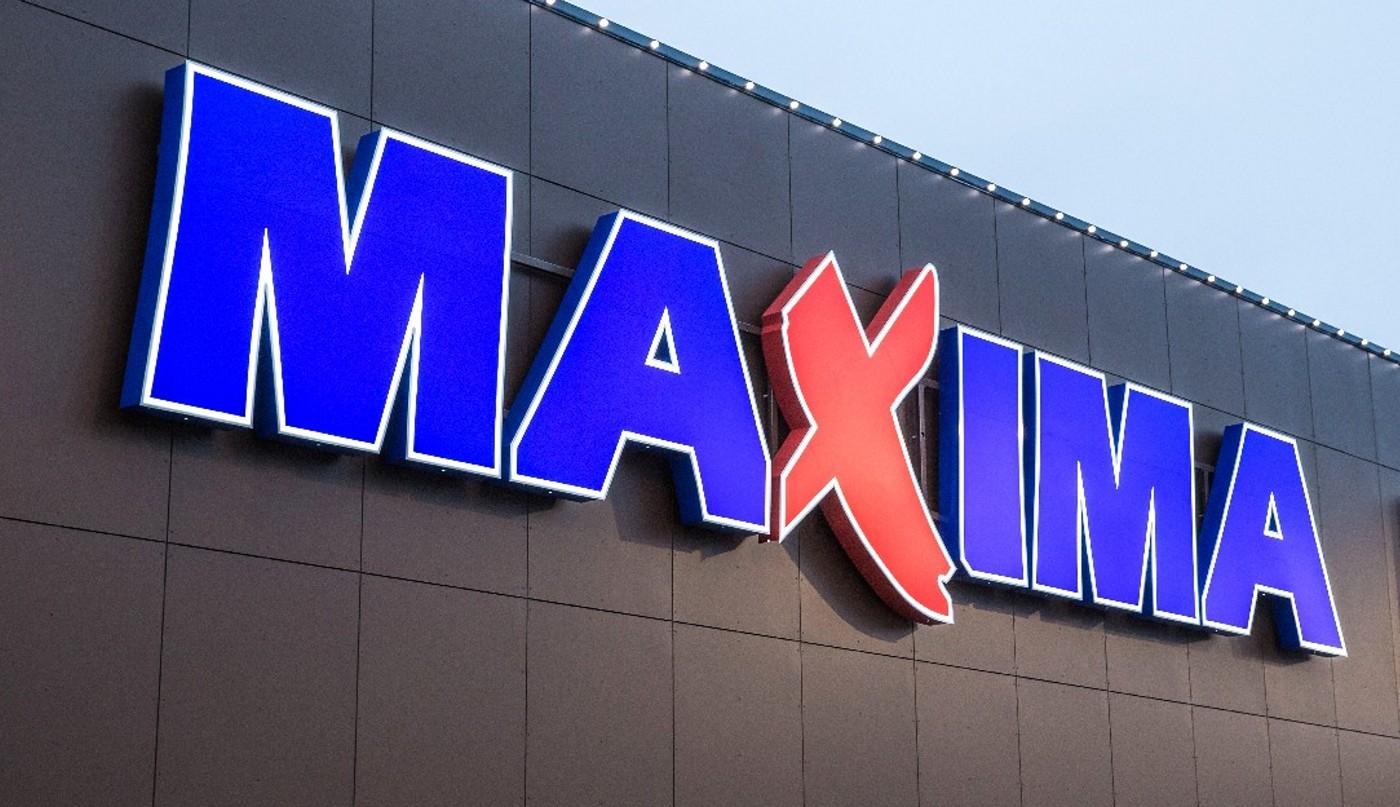 Maxima тестирует электронные ценники