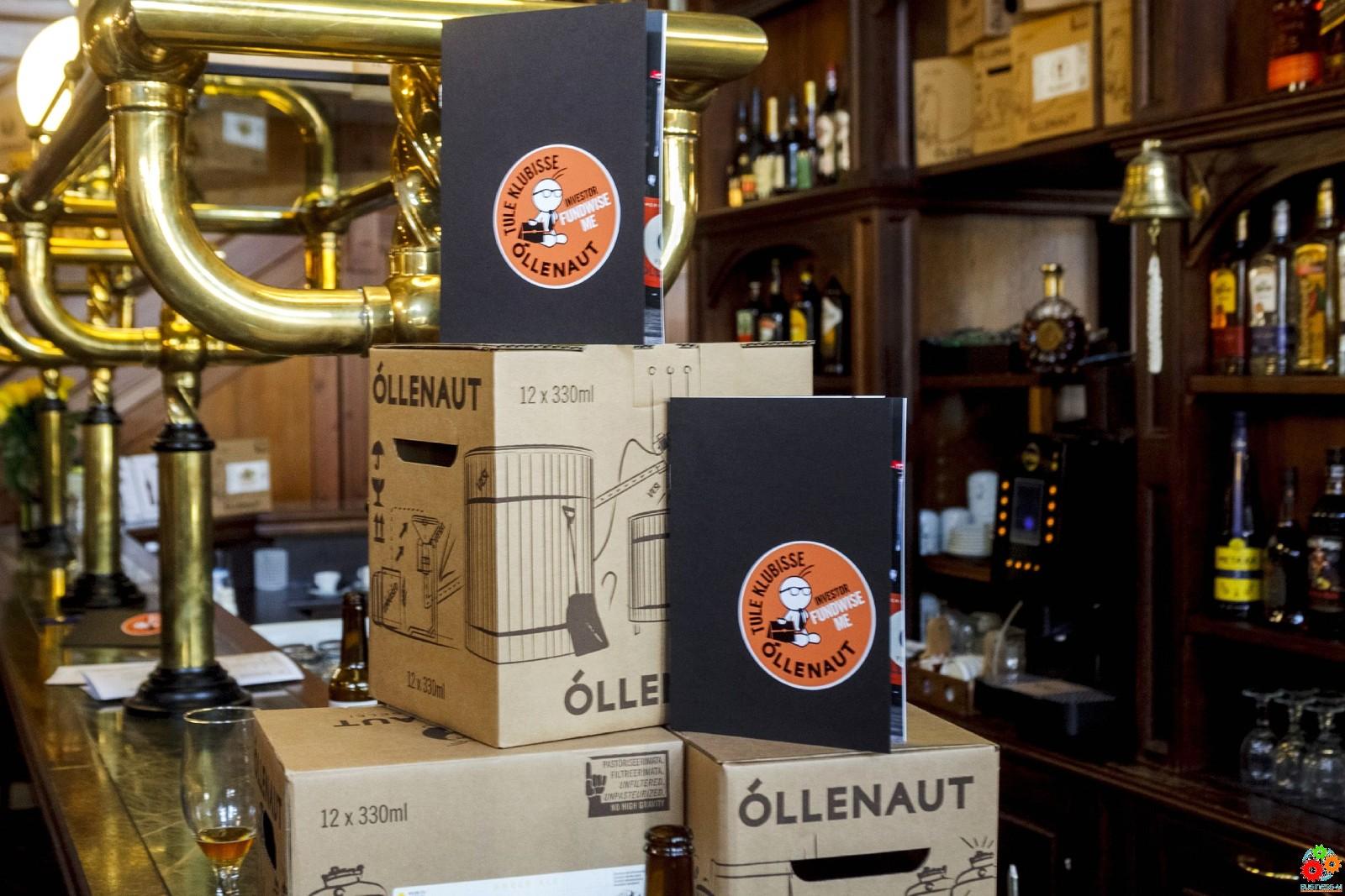 Õllenaut откроет новую современную пивоварню