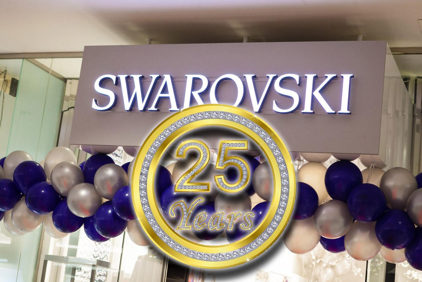 Swarovski: 25 лет в Эстонии!