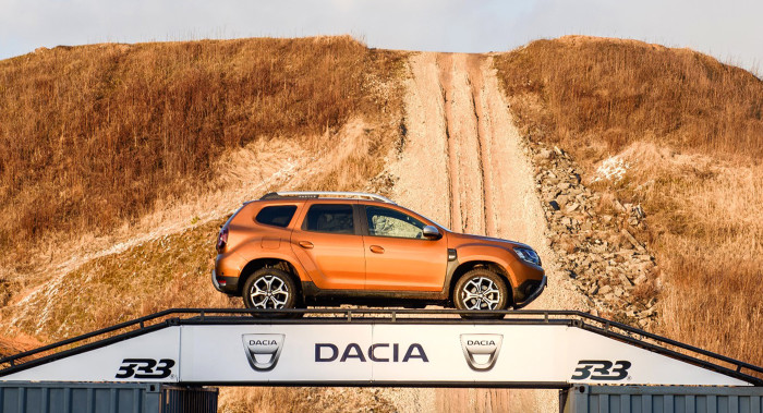 15.03.2018. DACIA DUSTER Third day event.