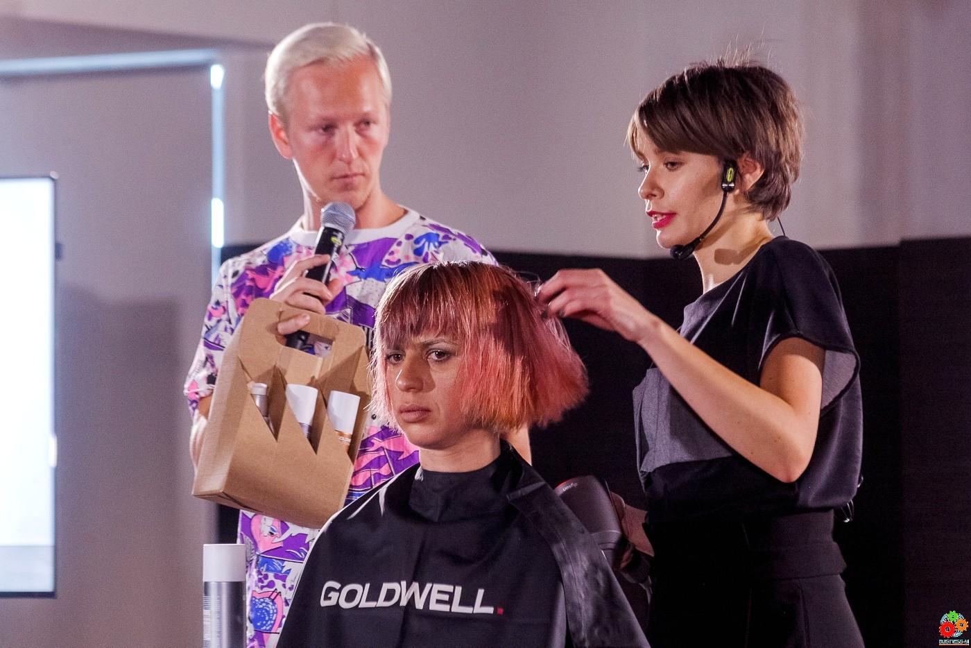 Лидия Малец: Goldwell это инновации и креативность!