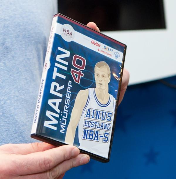 DVD-фильм: Мартин Мюйрсепп в НБА