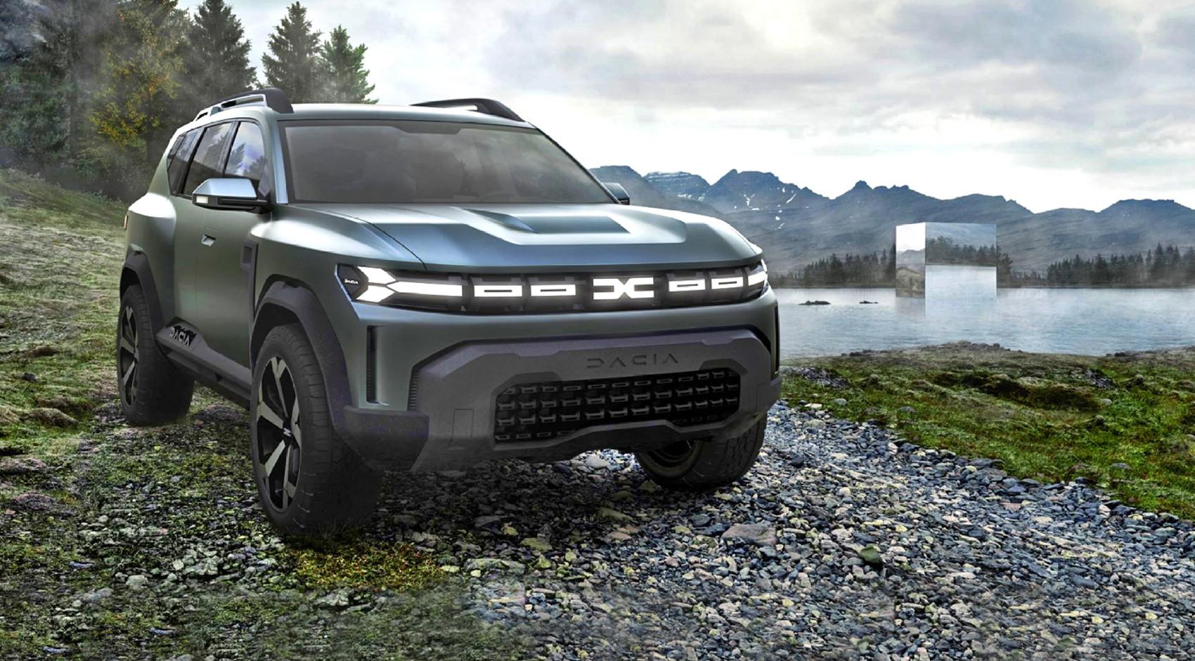 Концепт Dacia Bigster – новый брат Duster-a
