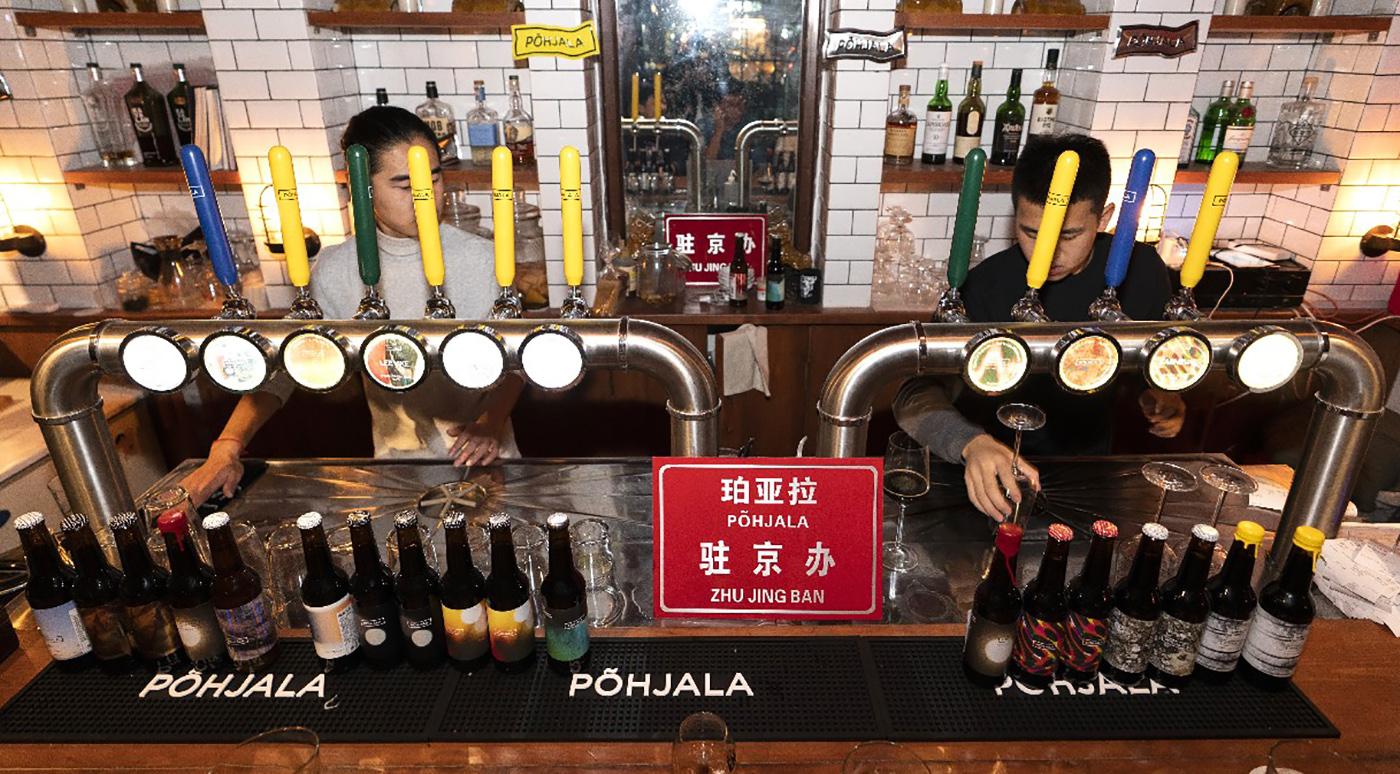 Põhjala: В Пекине открылся первый бар эстонского крафтового пива