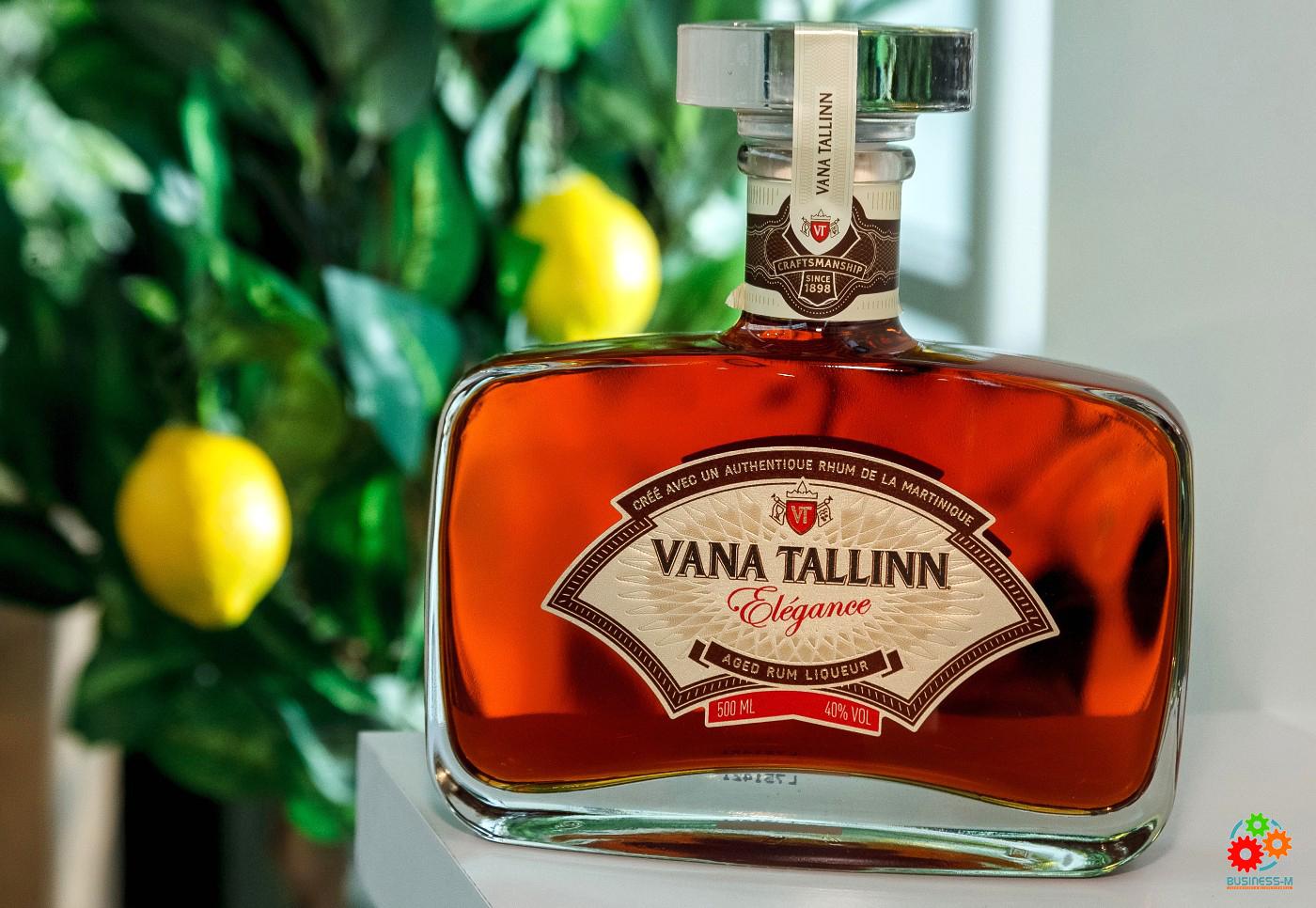 Vana Tallinn Elégance — лучший ликер в Лондоне