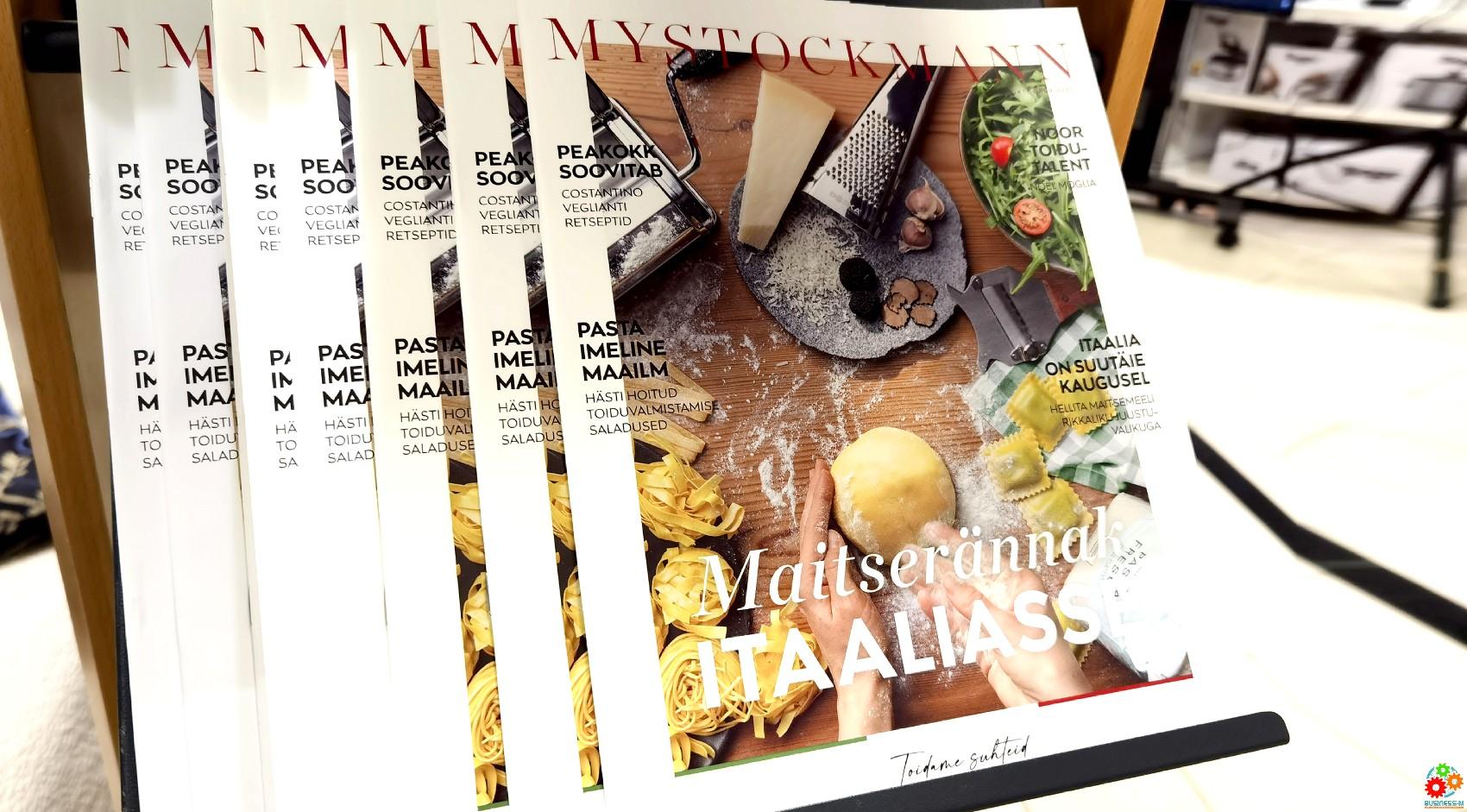 Stockmann: увлекательное путешествие со вкусами Италии