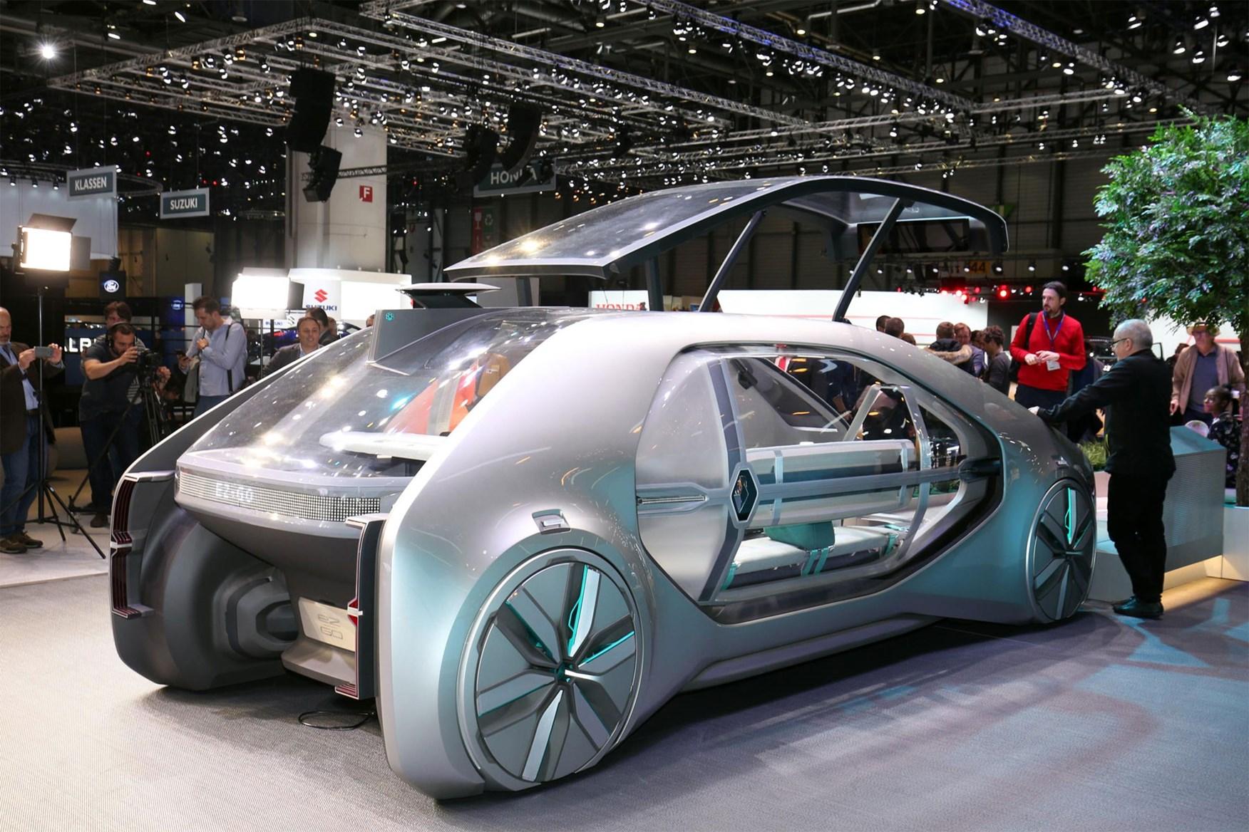 Renault EZ-GO — взгляд в беспилотное будущее автомобилей