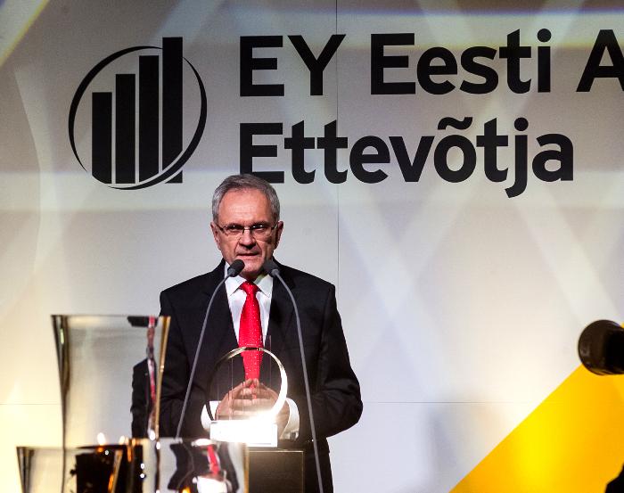 Ernst & Young Baltic: Юри Райдла – предприниматель 2014 года