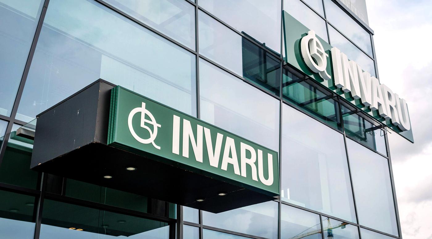 Invaru: Курьеры доставили  сотни вспомогательных средств
