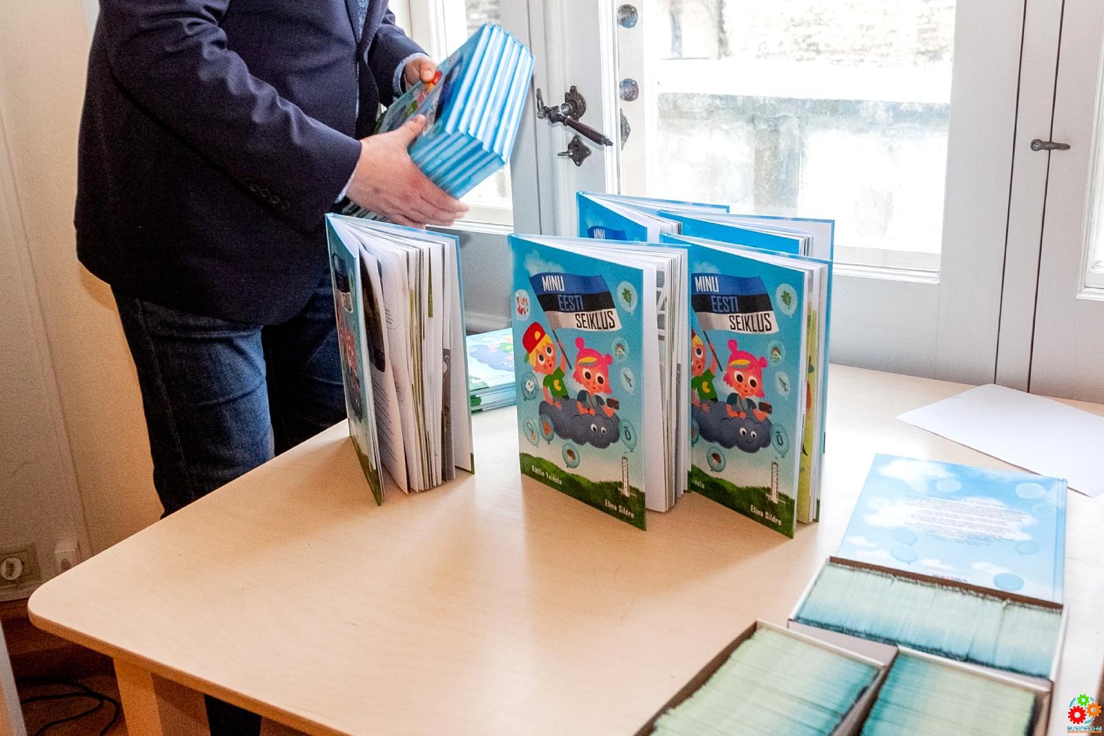 Maxima: поспешите! В магазинах осталось всего около 5 тысяч книг «Приключение по моей Эстонии»