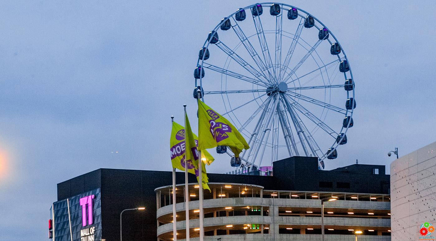 Завтра откроется колесо обозрения Skywheel of Tallinn