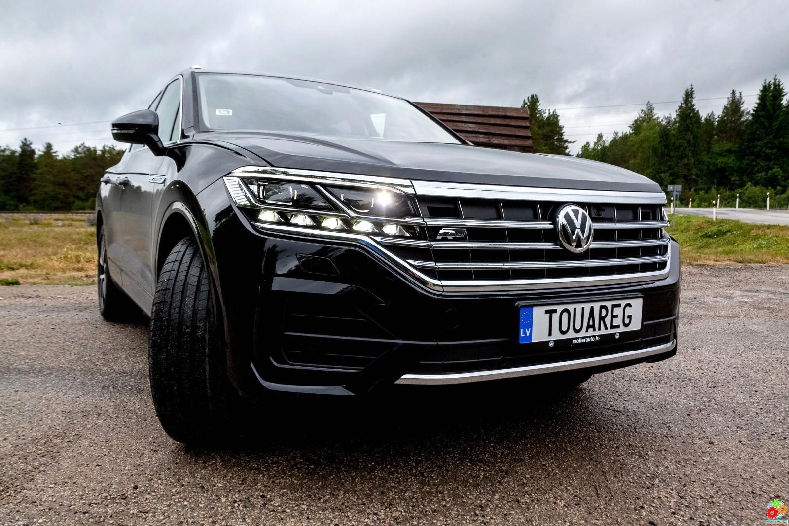 Volkswagen Touareg: встречайте новое поколение легендарного внедорожника