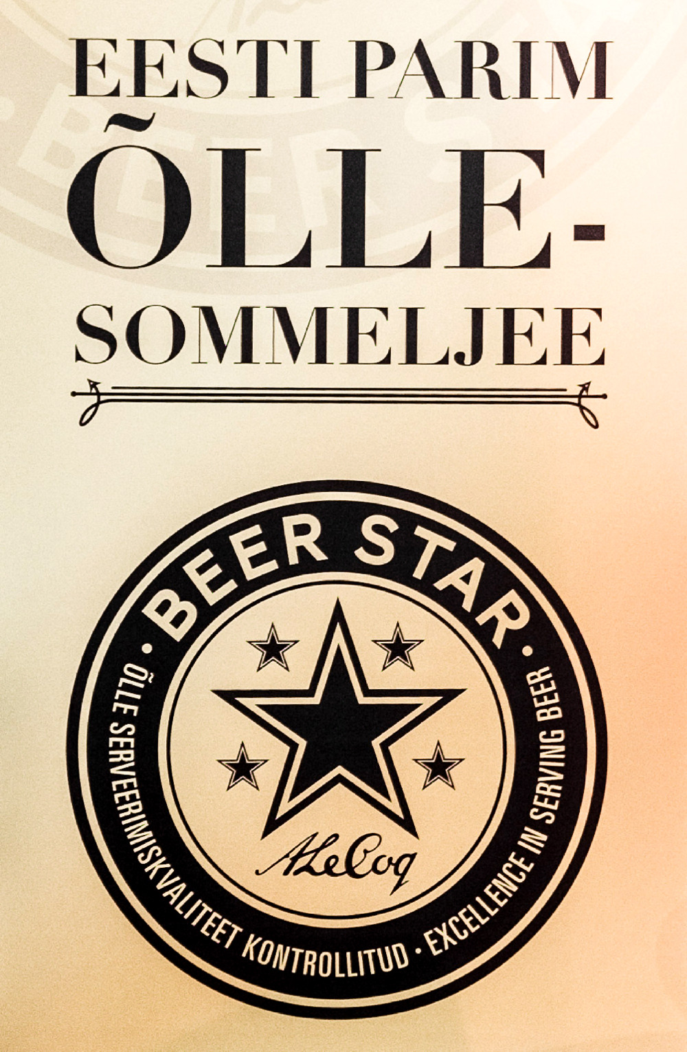 Beer Star — эстонский конкурс сомелье пива
