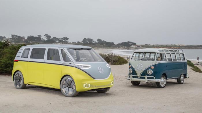 Volkswagen I.D. Buzz и его легендарный предшественник