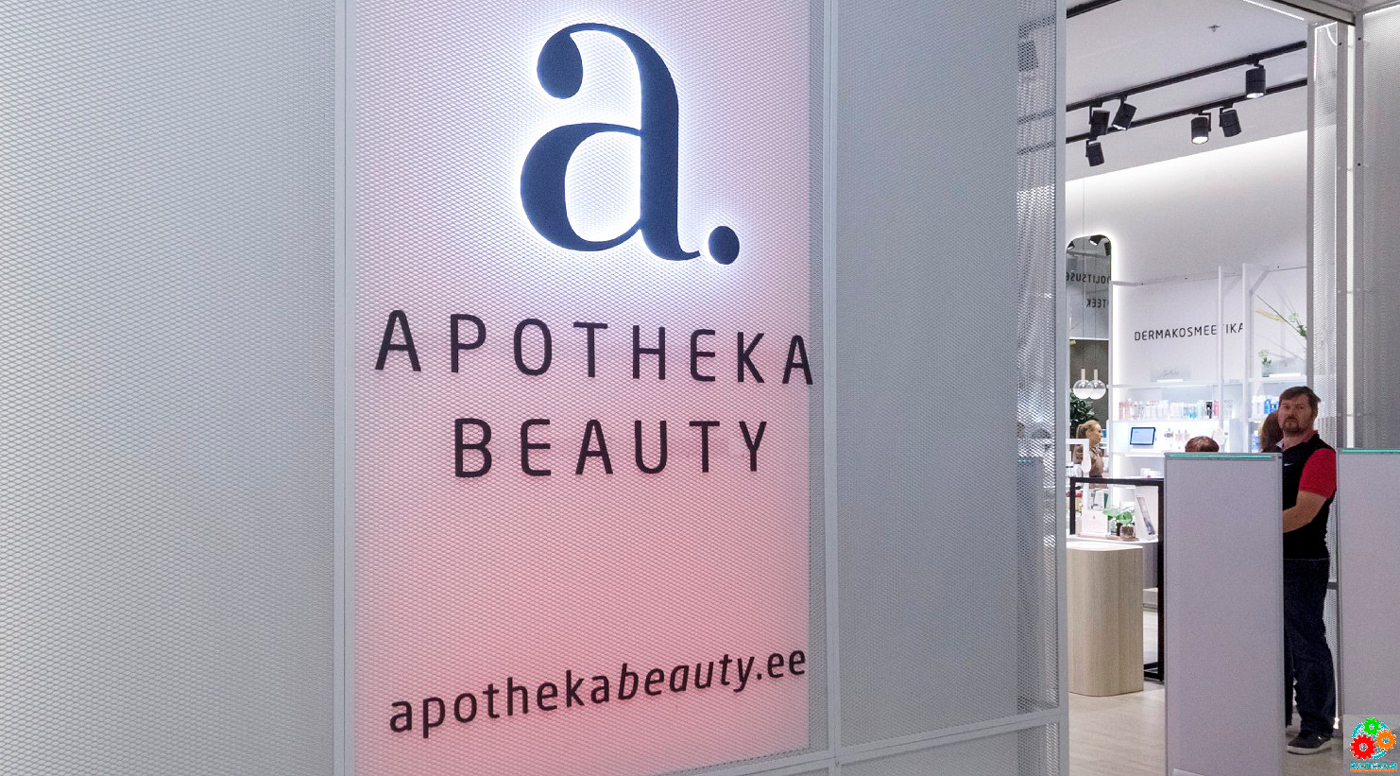 Apotheka Beauty – открылся первый магазин товаров для красоты