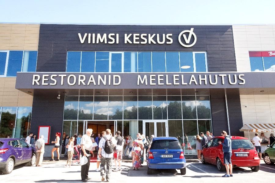 Новый торговый центр Viimsi Keskus открыт