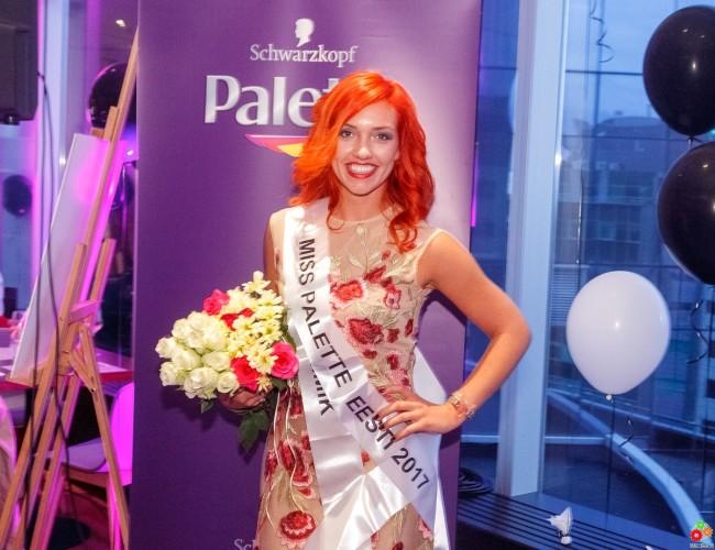 Ирина Аутио - Miss Palette 2017