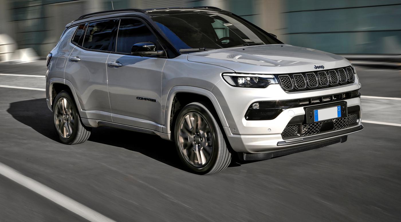 Обновленный Jeep Compass вскоре прибудет в Эстонию