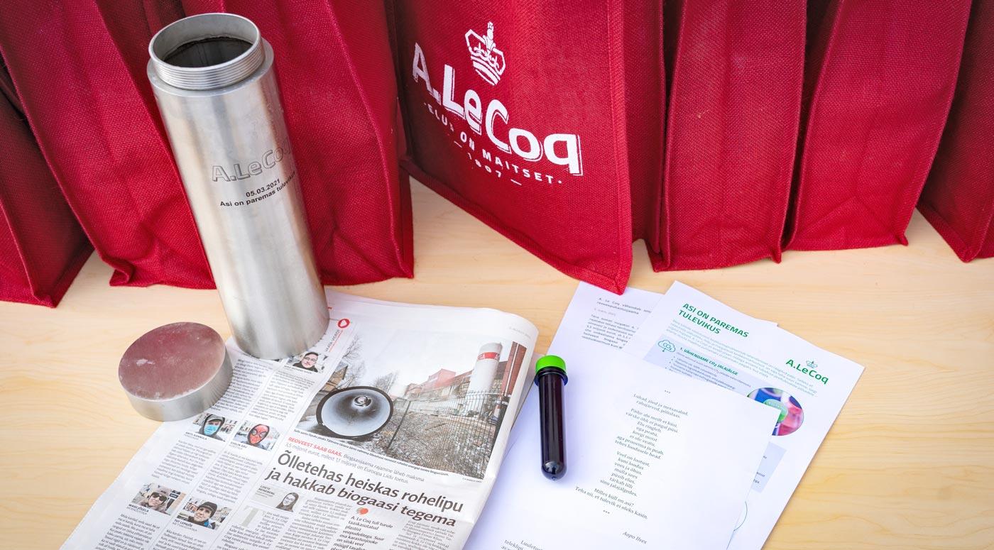 A. Le Coq построит новую биогазовую станцию