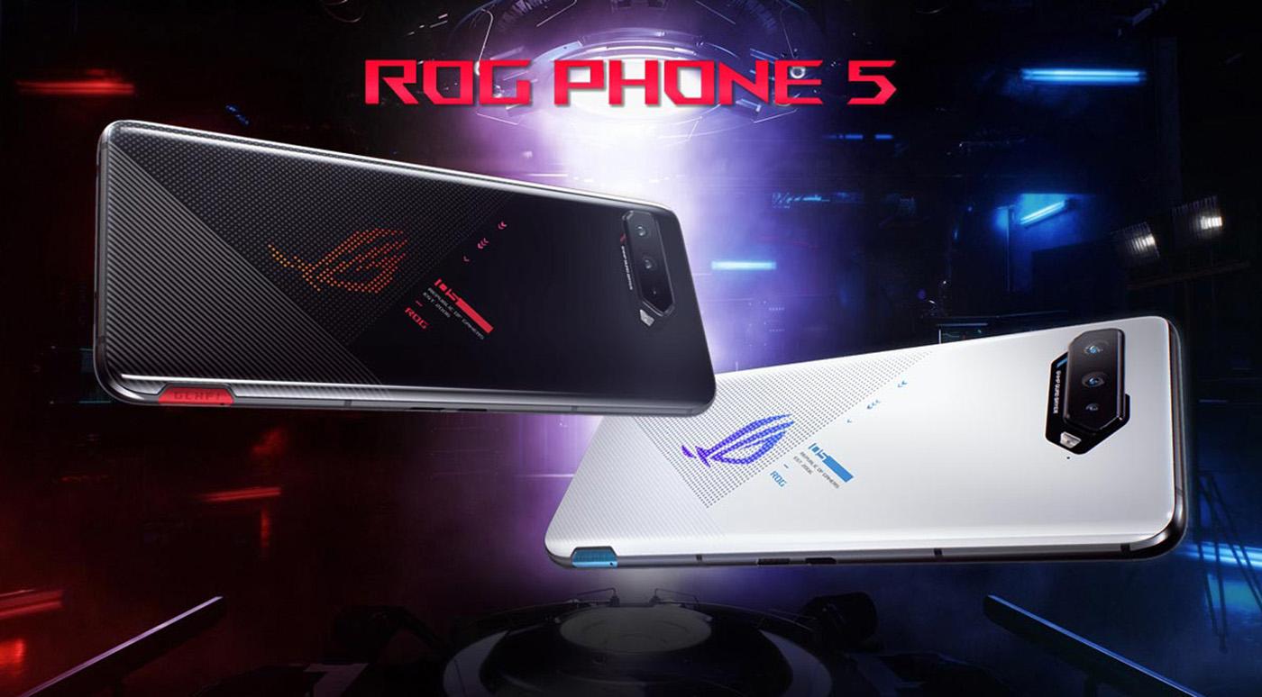 ASUS ROG Phone 5 — геймерские смартфоны новейшего поколения