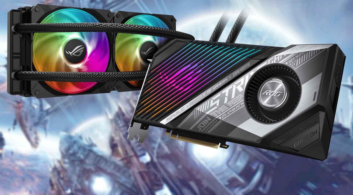 ROG STRIX и TUF GAMING — новые видеокарты от ASUS на базе процессоров RADEON RX 6800