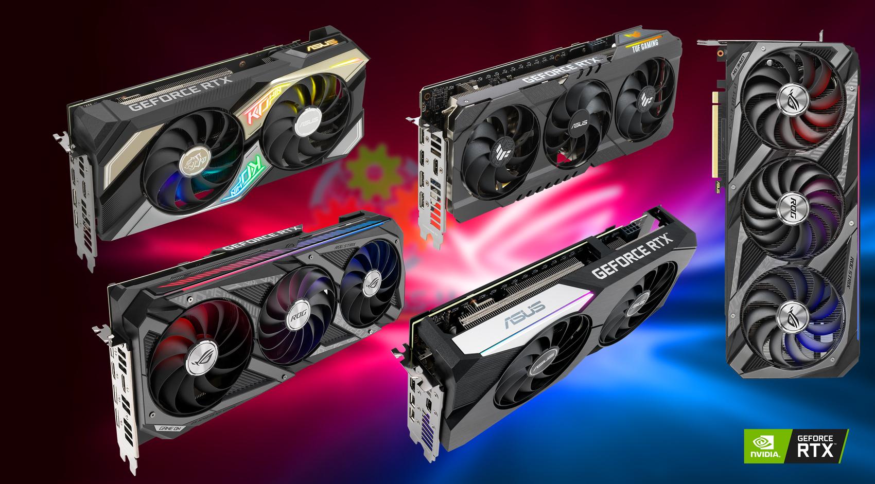 ASUS: Новые видеокарты серии GeForce RTX 3060 Ti