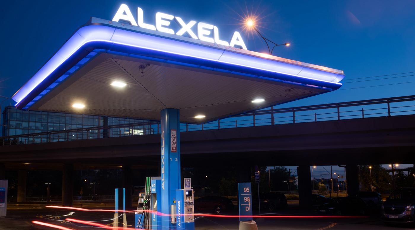 Alexela закроет в феврале магазин на заправке в Элламаа